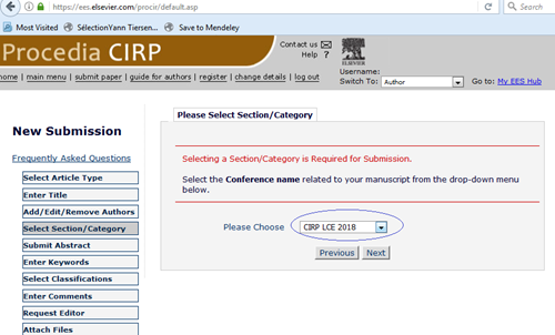 Full paper submission guidelines - The 25th CIRP conference on Life